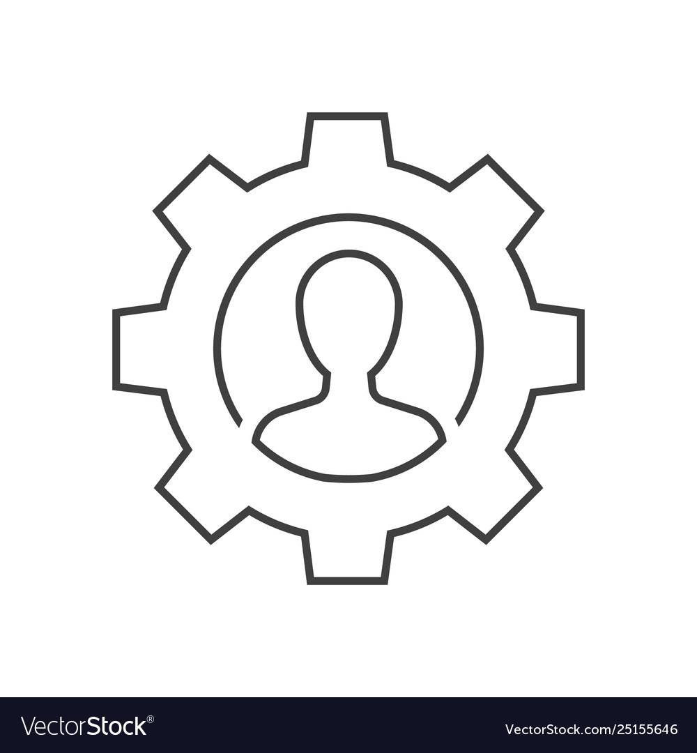 Manager outline icon
