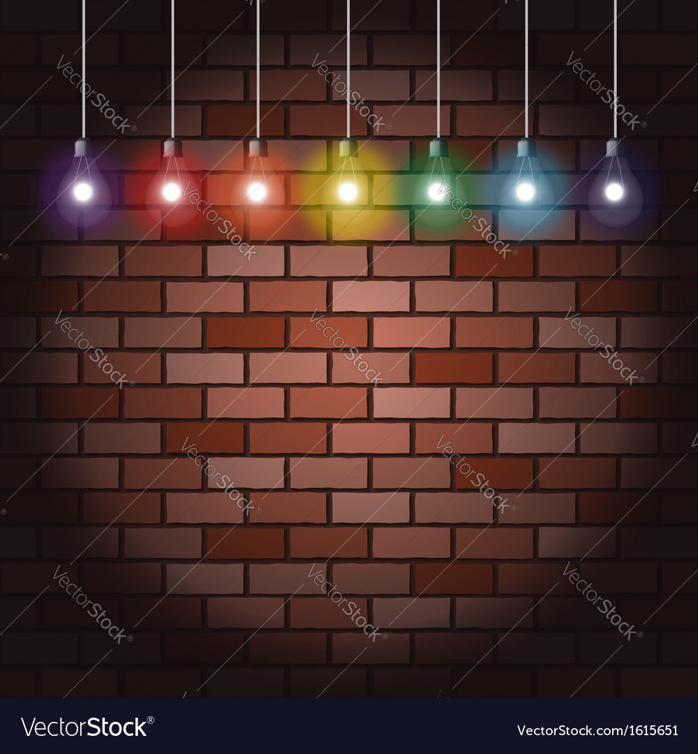 Light Bulbs Royalty Free Vector Image