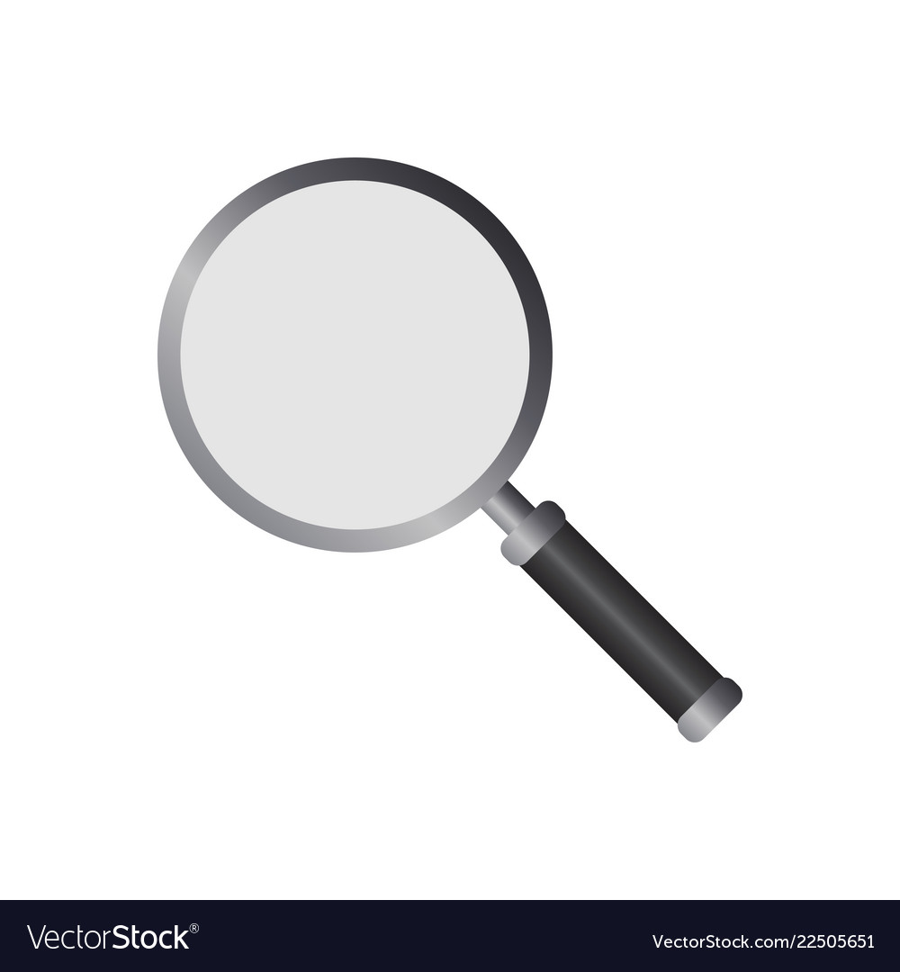 Magnifying glass logo icon design template