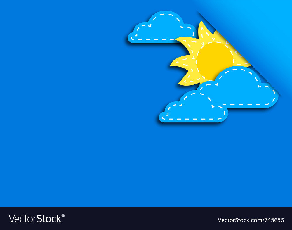 Background day vector image