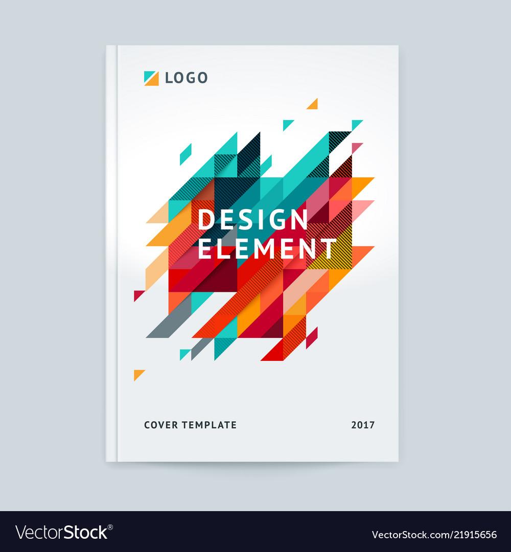 Minimalistic cover design template