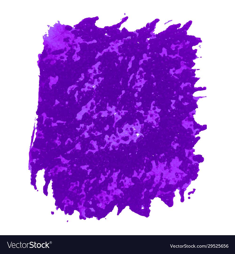 Purple watercolor stain