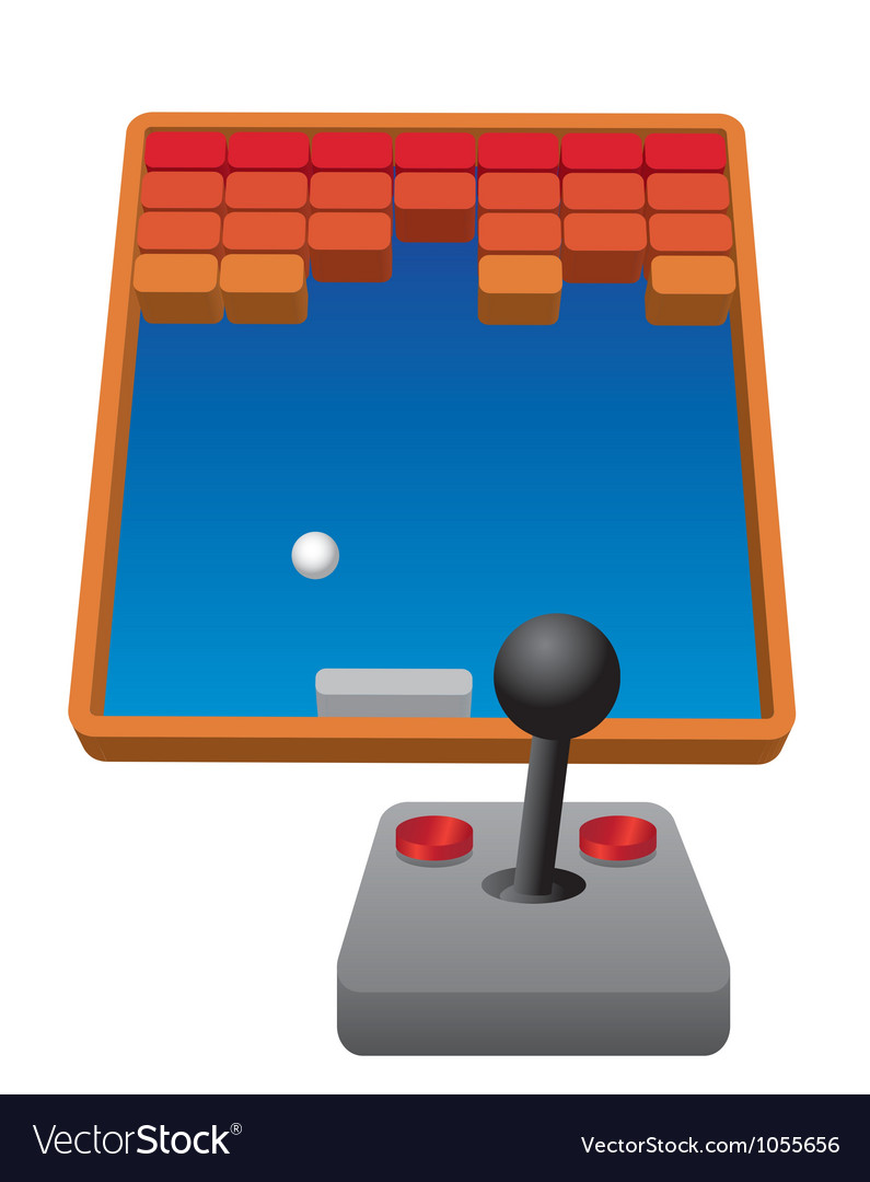 Retro game Vector Image