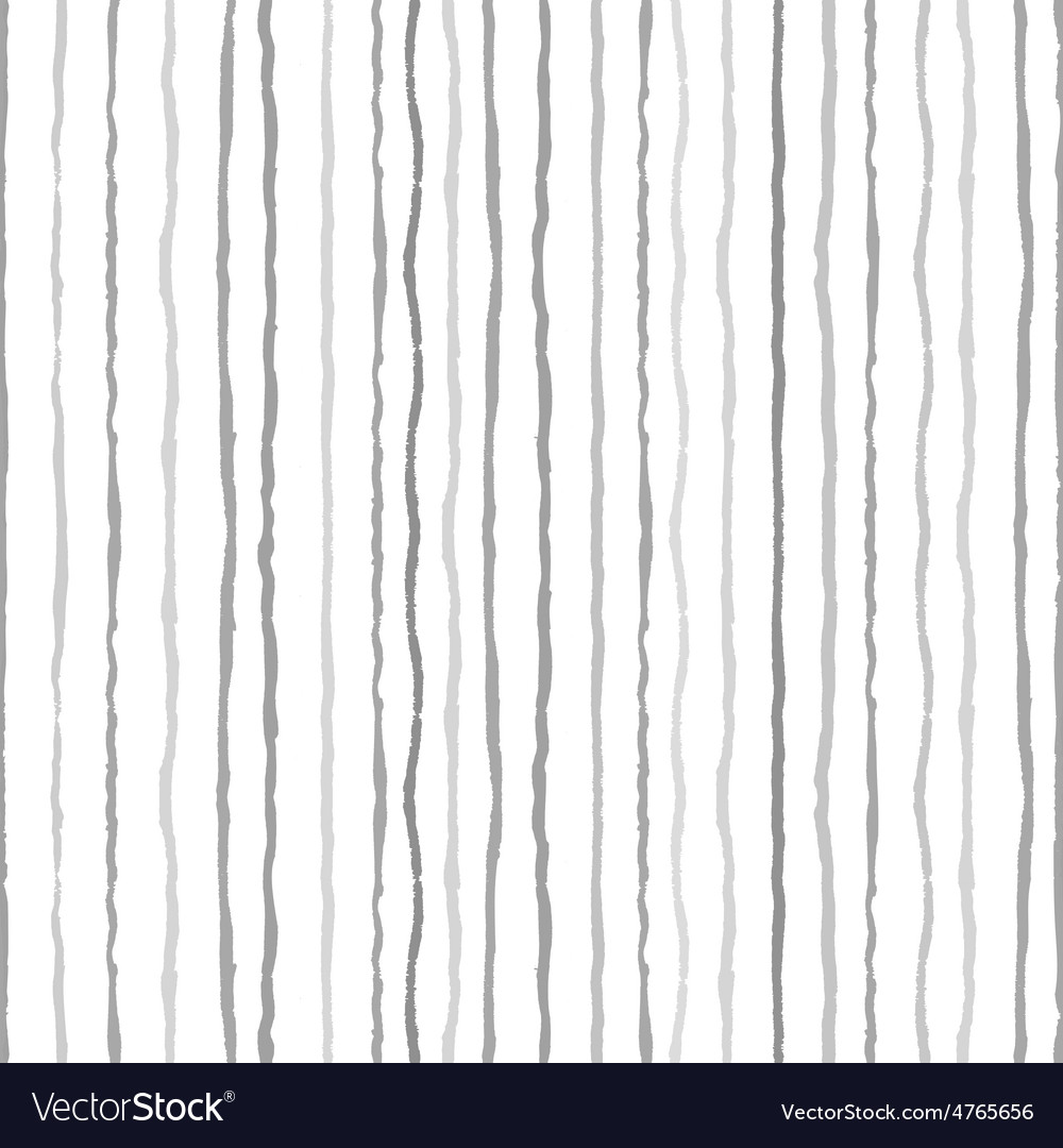Watercolor stripes strokes seamless pattern