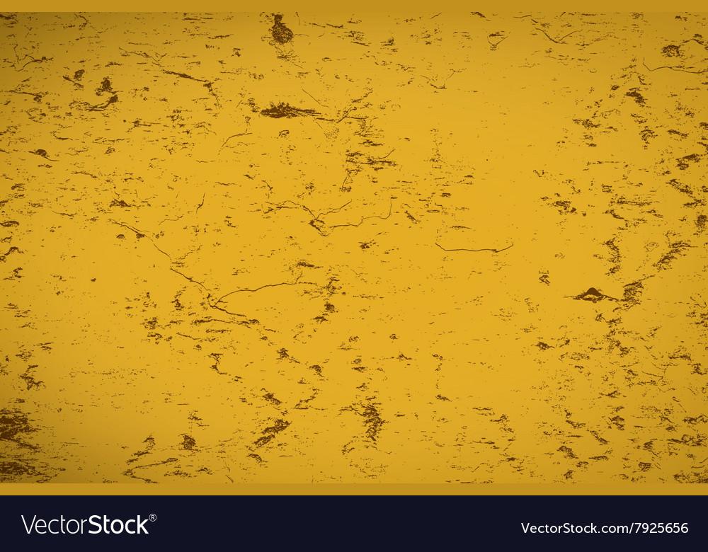 Yellow Brown Distress vector image