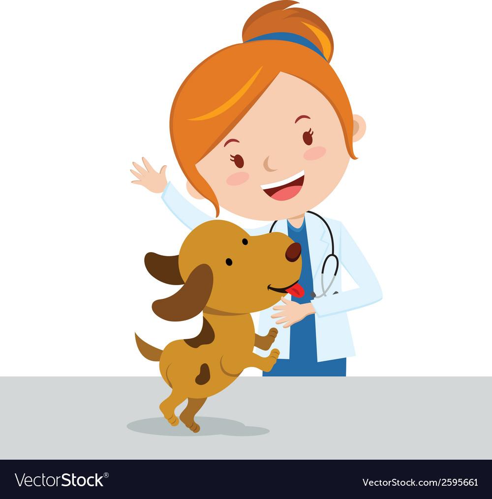 Top 60 Veterinary Clinic Clip Art, Vector Graphics and ...   Cartoon Vet Tech