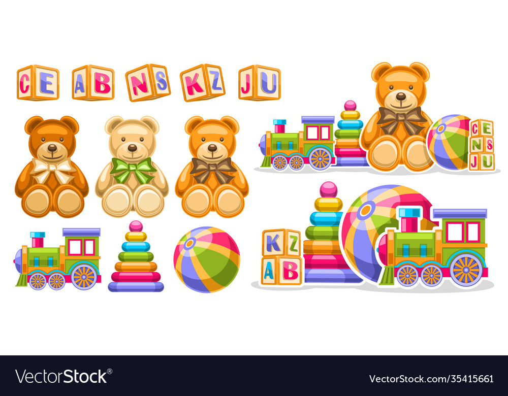 Set for kids toys