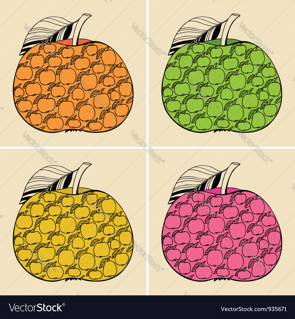 Decorative apples