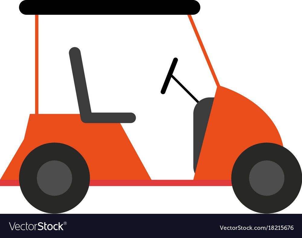 Golf cart icon image