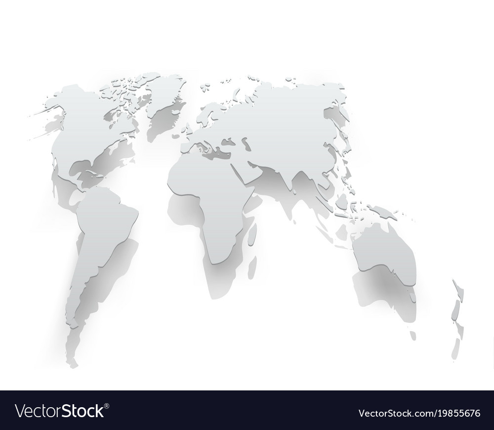 Image of world map paper royalty free vector image image of world map paper vector image gumiabroncs Gallery