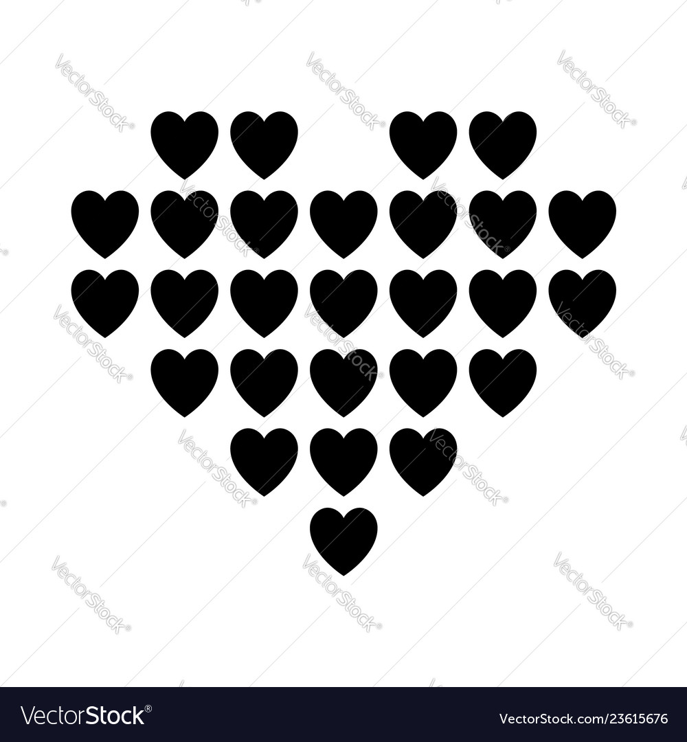 Love icon or valentines day sign designed