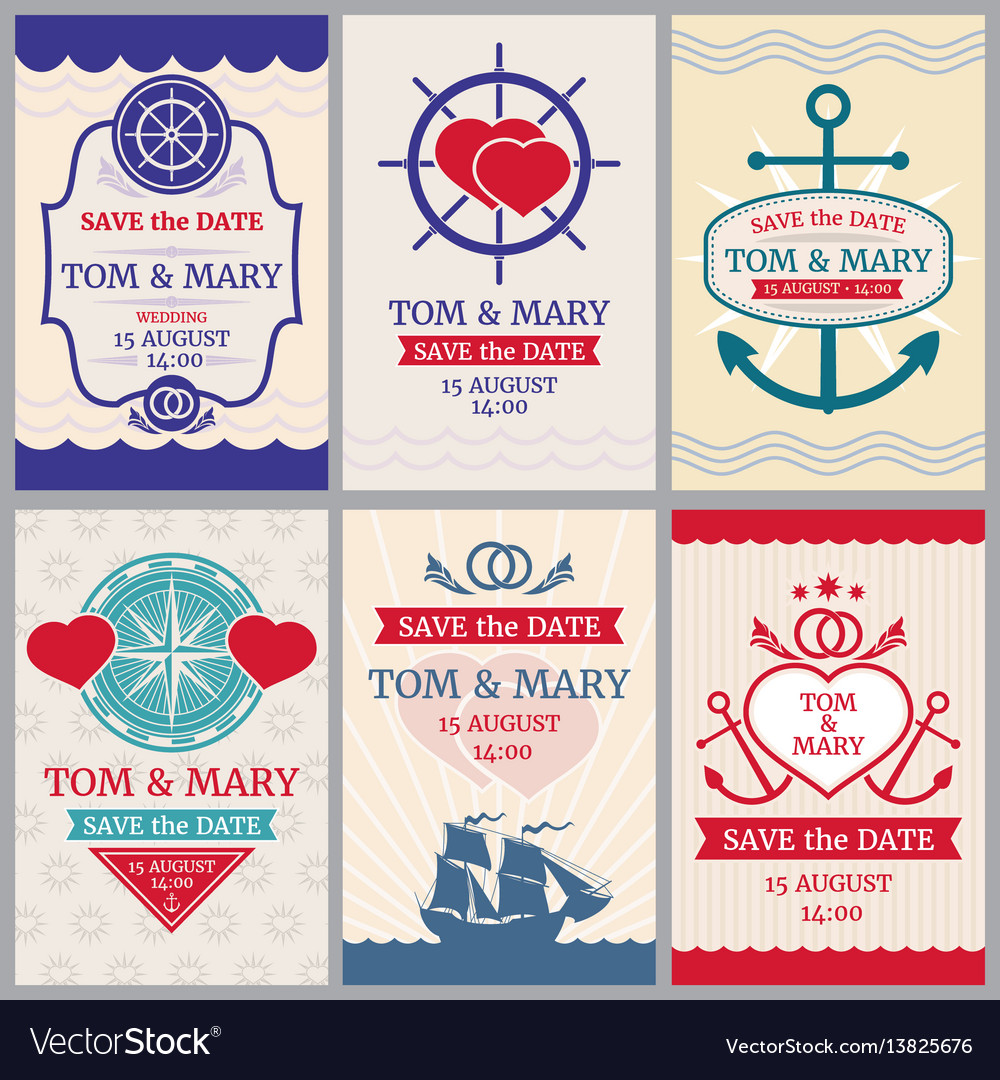 Nautical congratulations backgrounds for