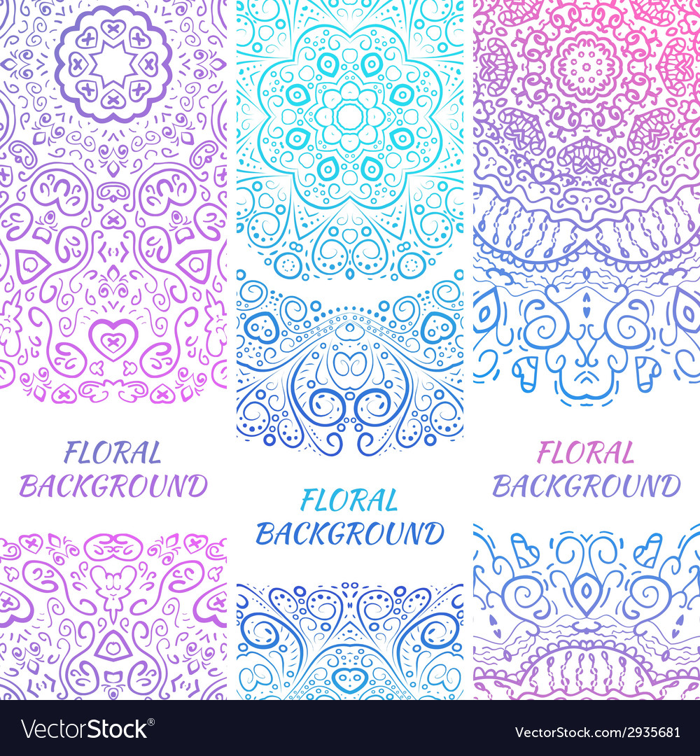 Tribal ethnic vintage banners for your cute