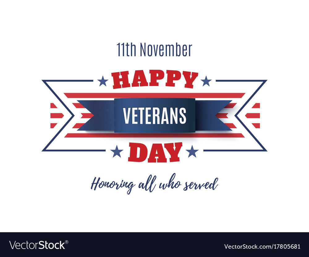 Veterans day abstract background