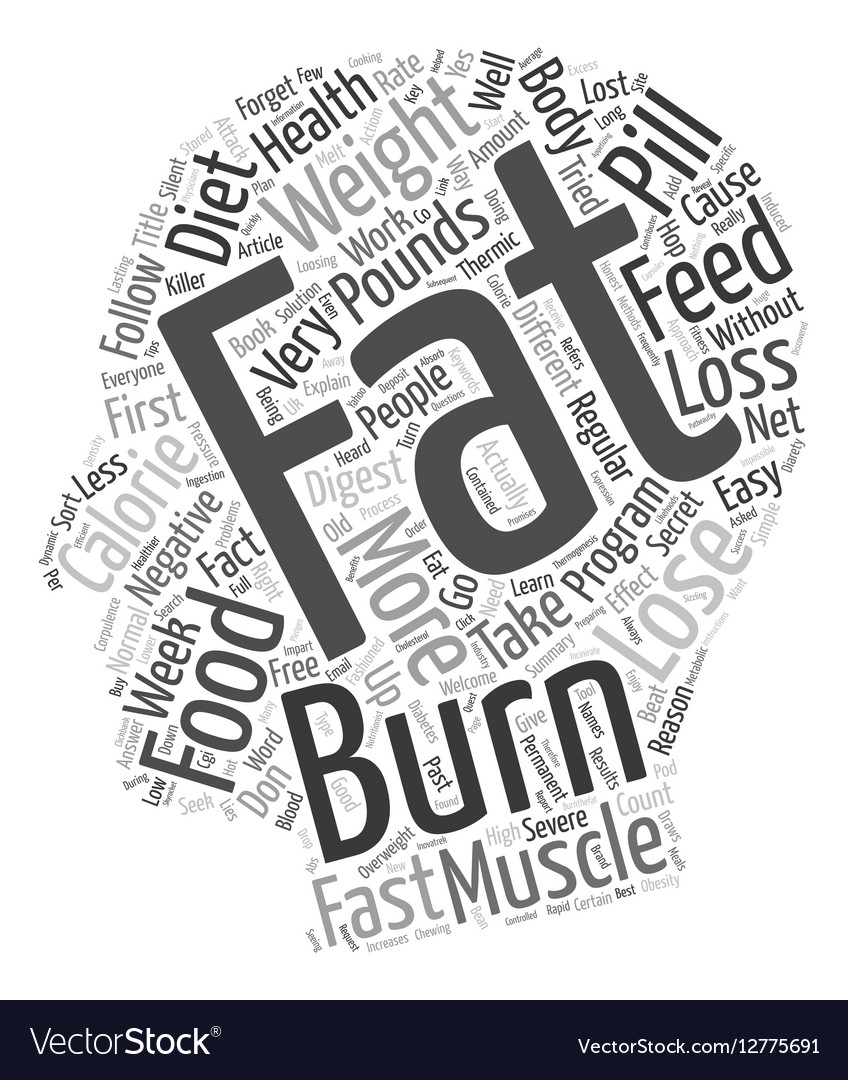 Burn the Fat and Feed the Muscle text background