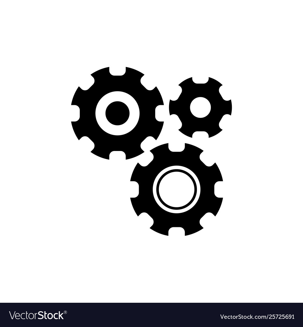 Settings with additional gears icon