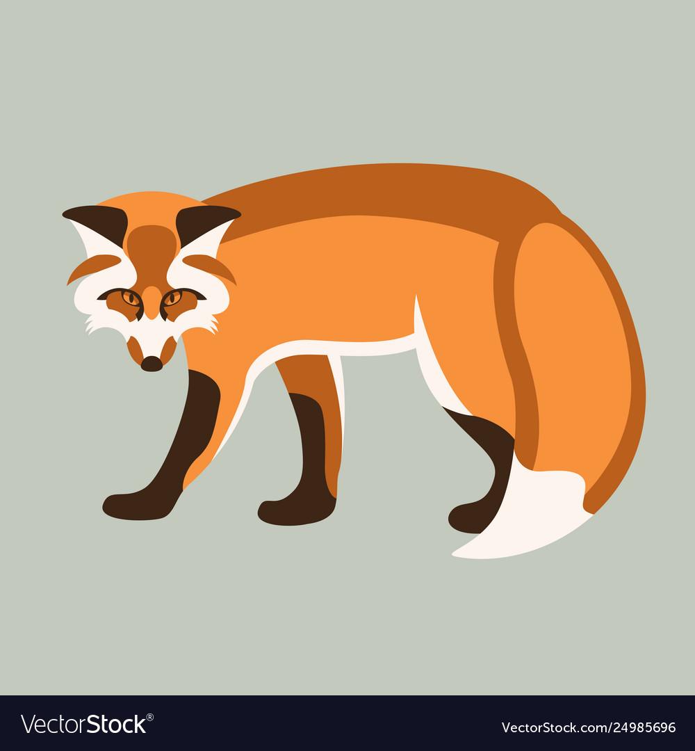 Fox flat style profile