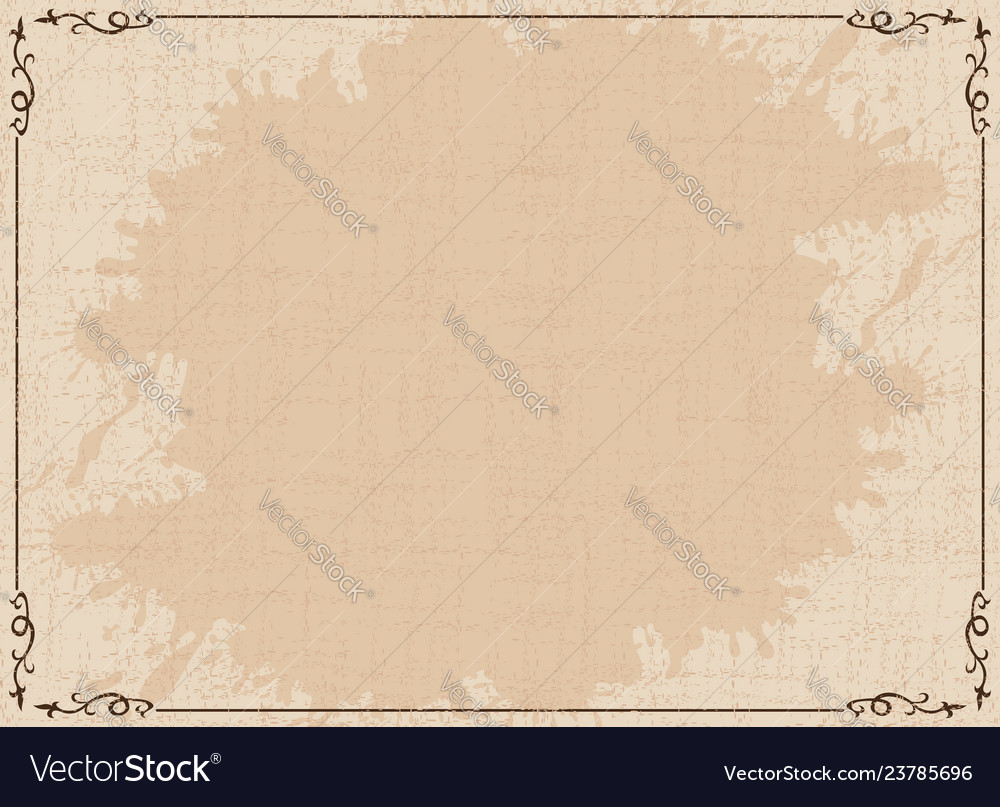 Old dirty brown background