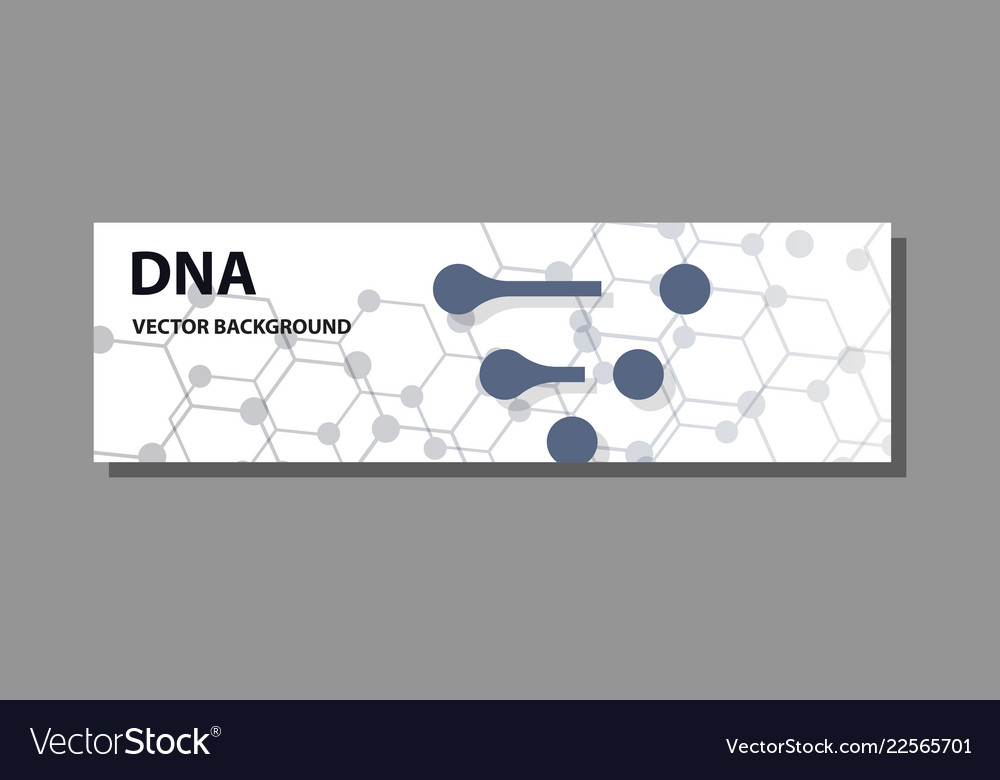 Abstract technology science concept dna