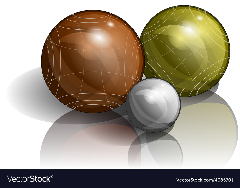 Bocce vector image