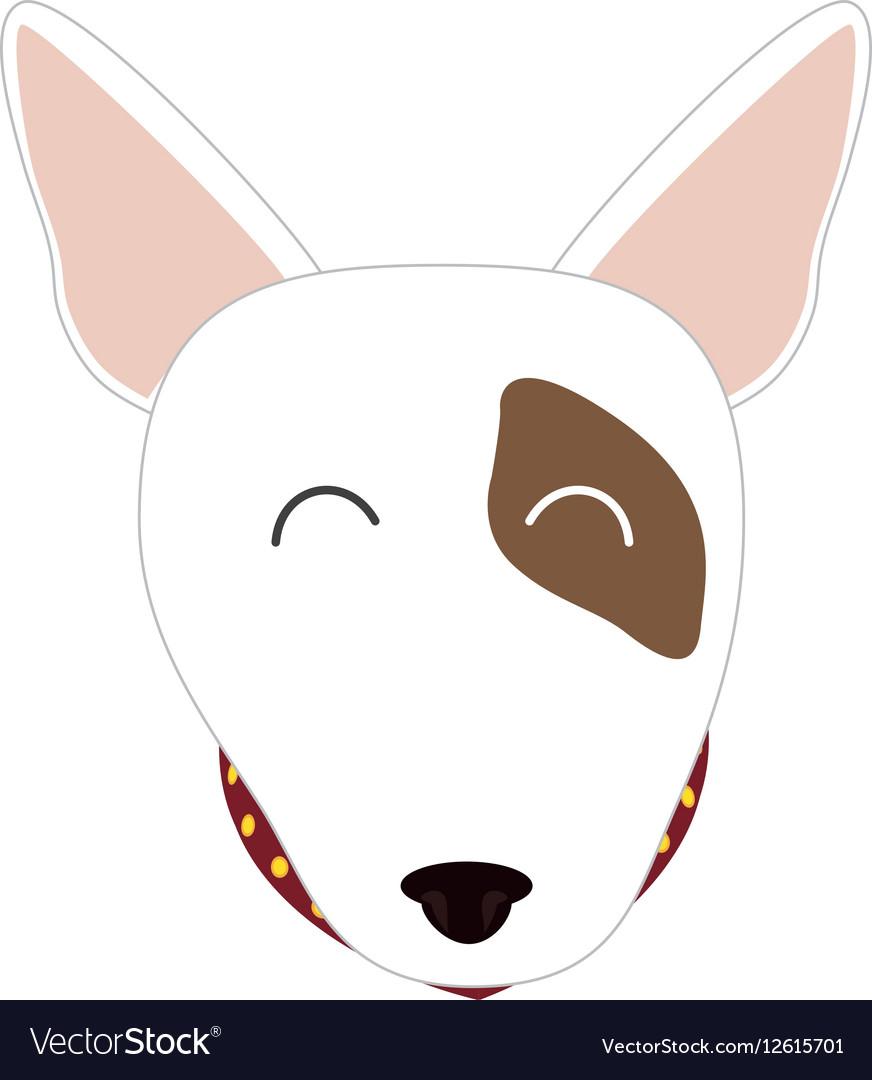Cute dog face
