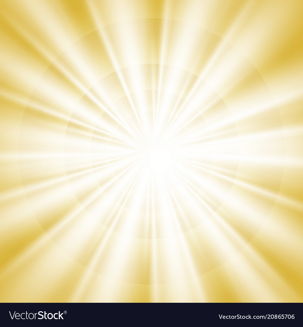 Abstract of gold sky of bright sun shine
