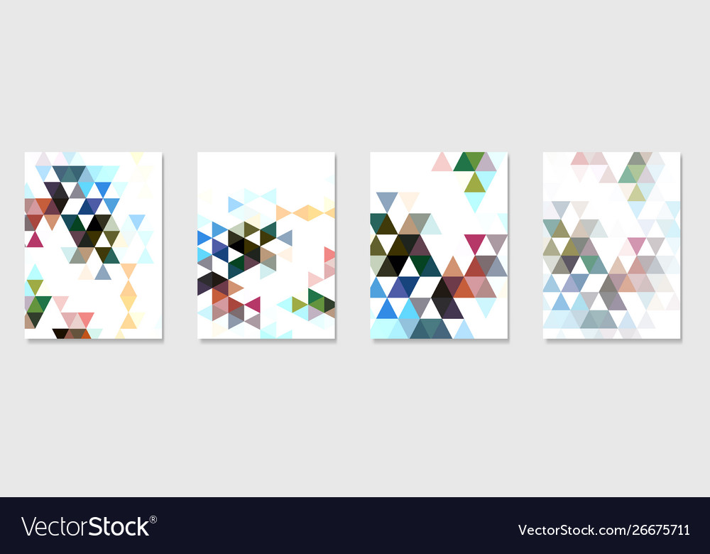 Abstract moder background with triangle