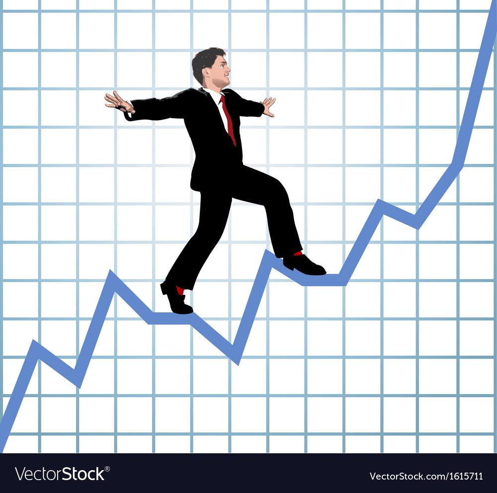 Entrepreneur climb start up chart