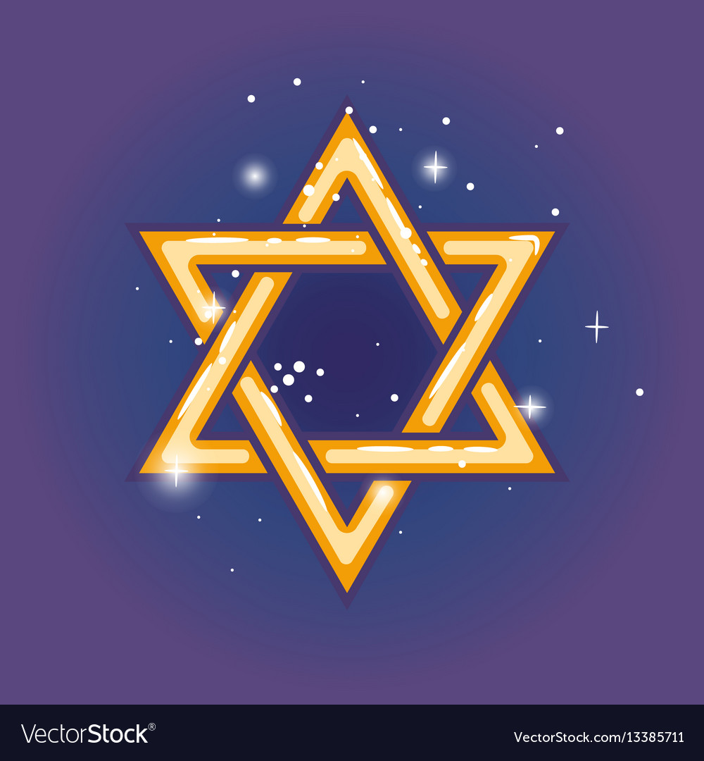 Star of david for hanuka