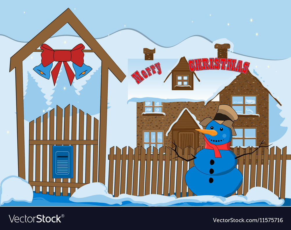 Happy new year 2 vector image