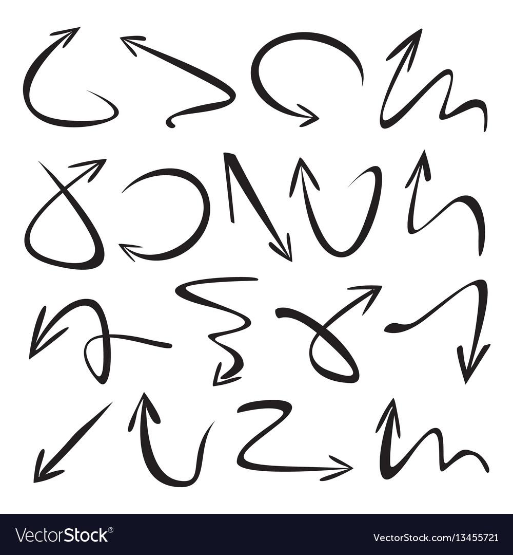 Set black arrows