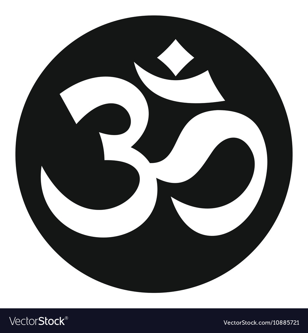symbol aum icon simple style royalty free vector image
