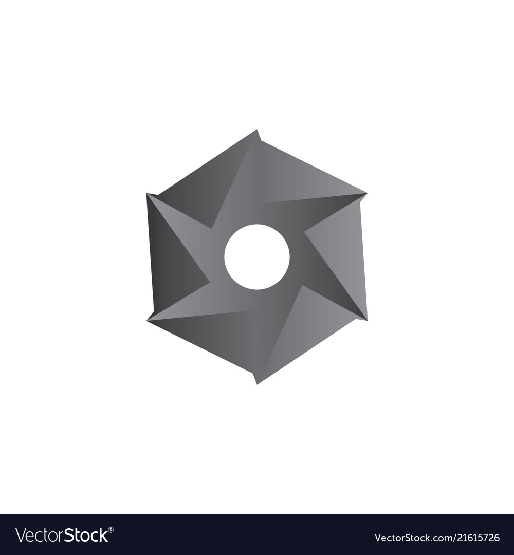 Hexagon business logo