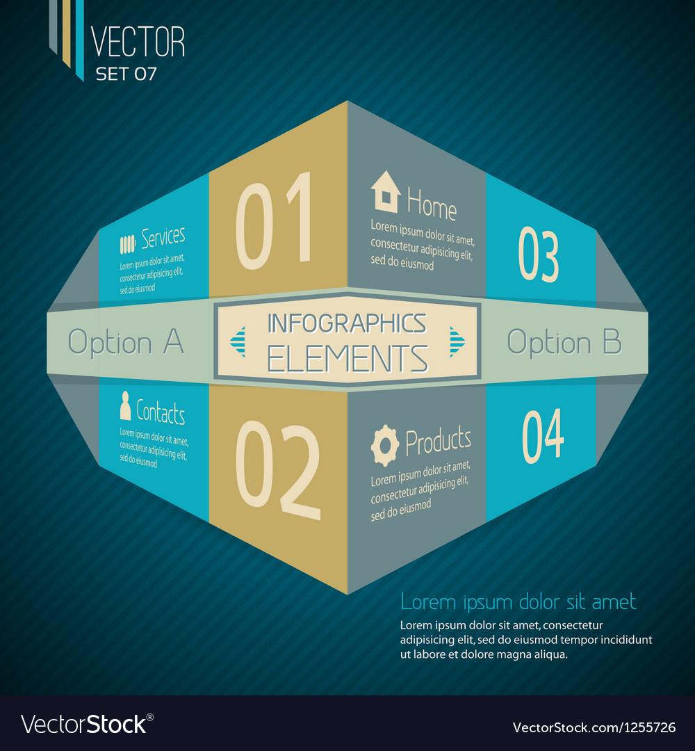 Original Infographic design template