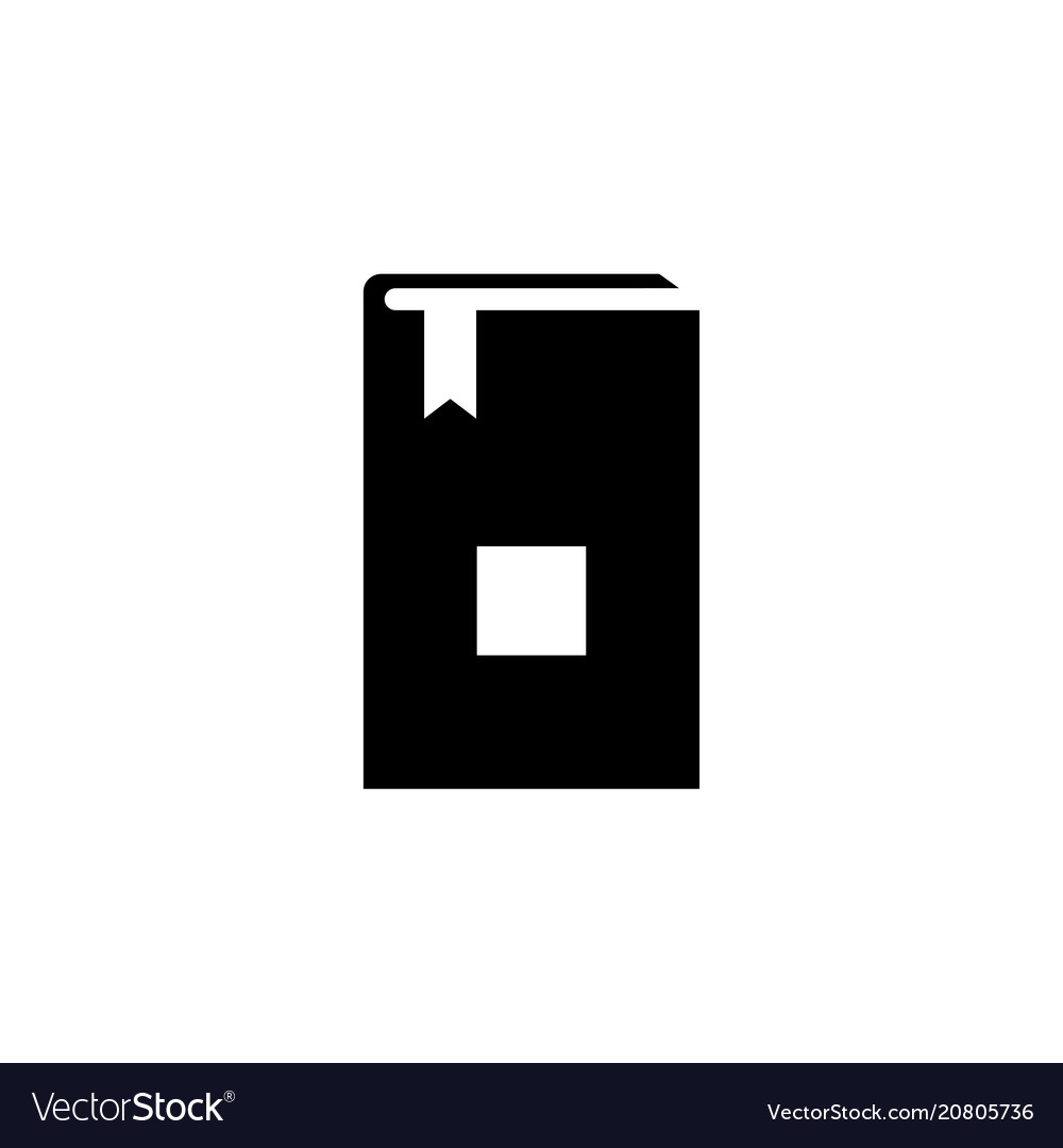 Bible holy book flat icon