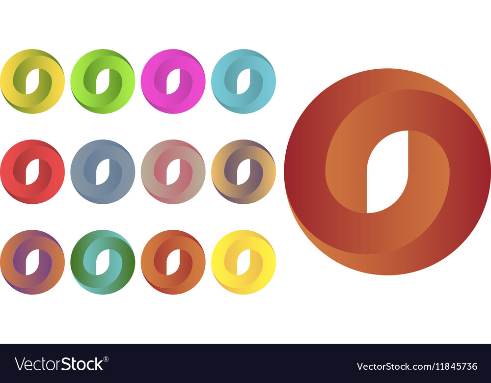 Circles logo set