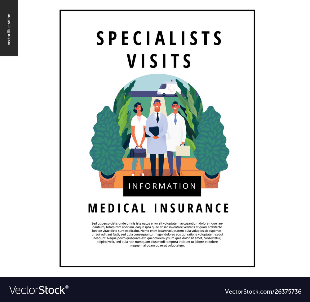 Medical insurance template - specialists visits