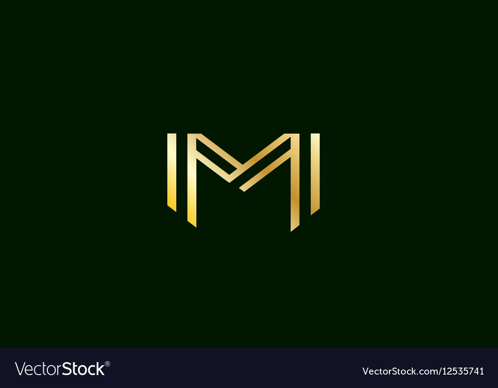 Alphabet Letter M Logo Icon Design