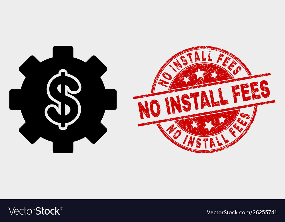 Financial settings icon and grunge no