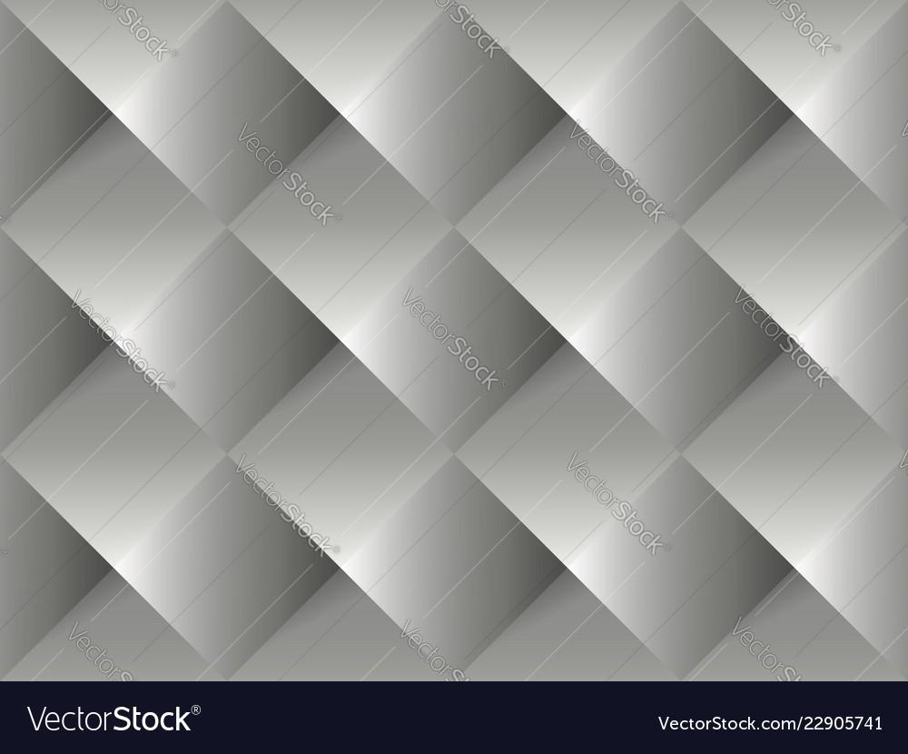 Grey geometric 3d pattern