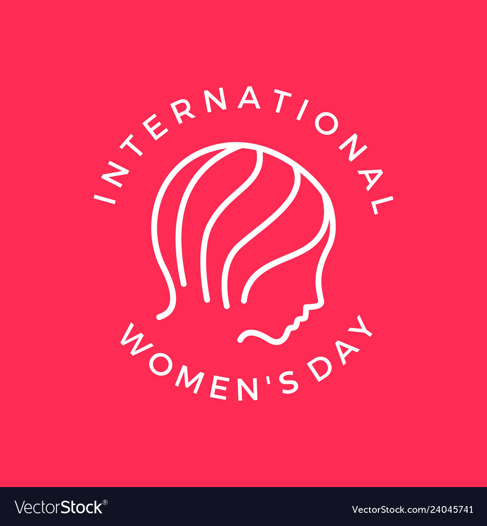 International womens day banner