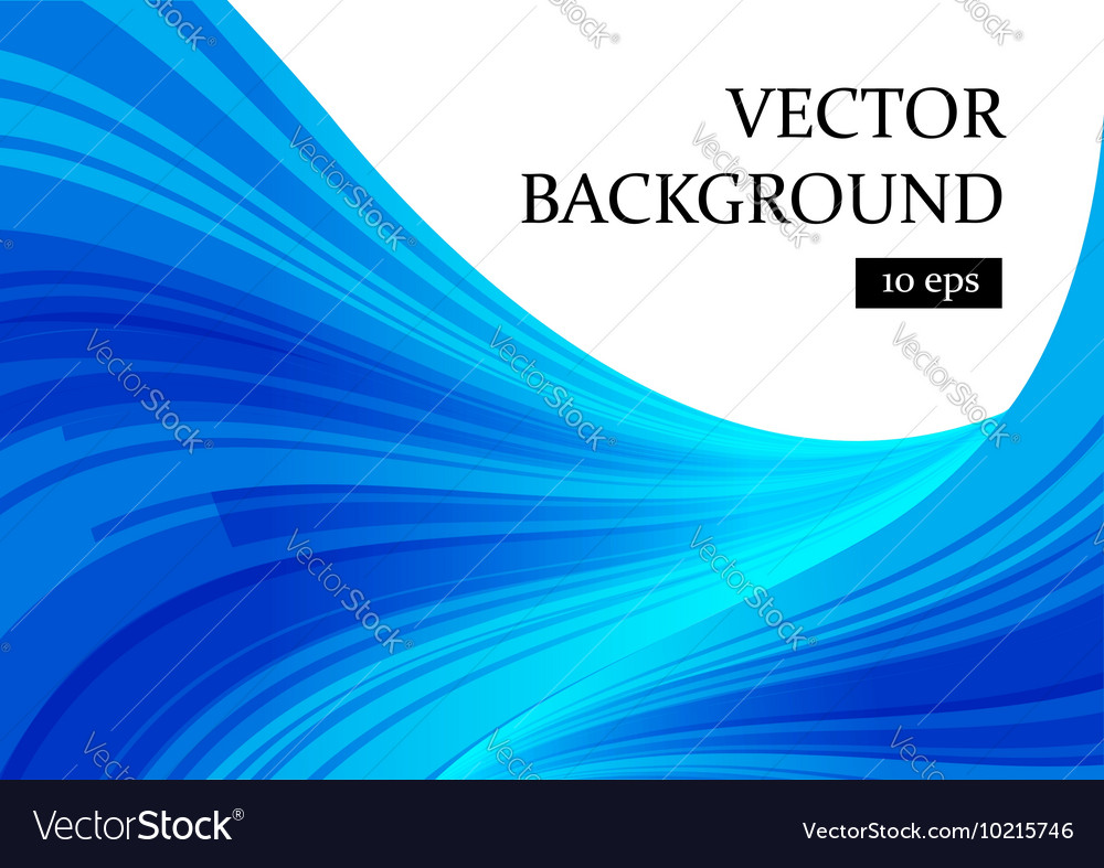 Abstract blue and white curve background