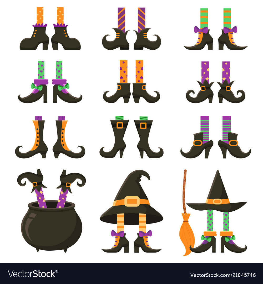 Scary witch legs halloween witches leg stockings