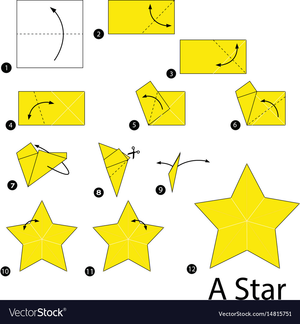 How to make a 3D paper star | Easy origami stars for beginners ... | 1080x1000