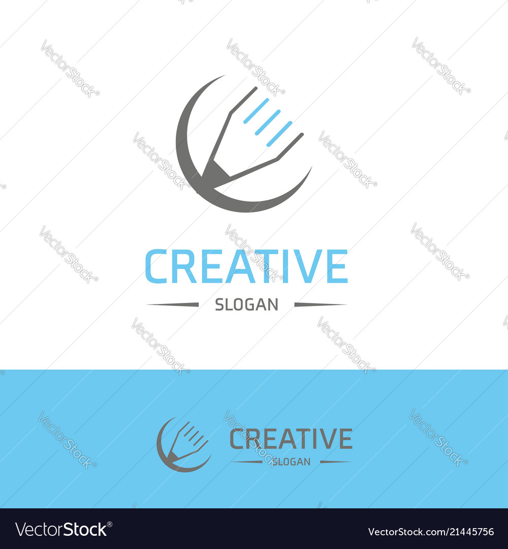 Company logo and typography with elegent design