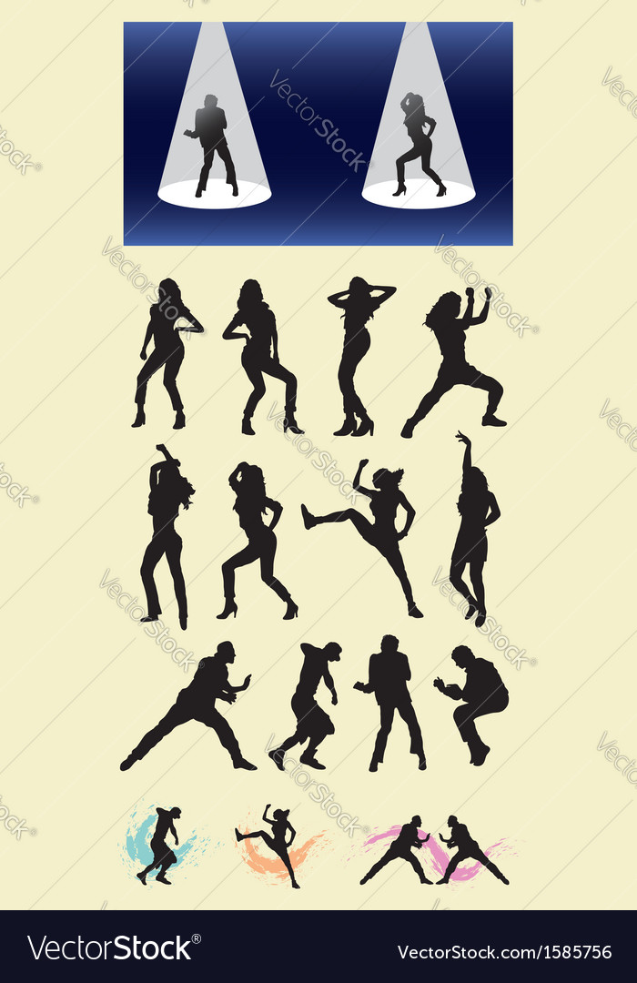 Dancer Silhouettes