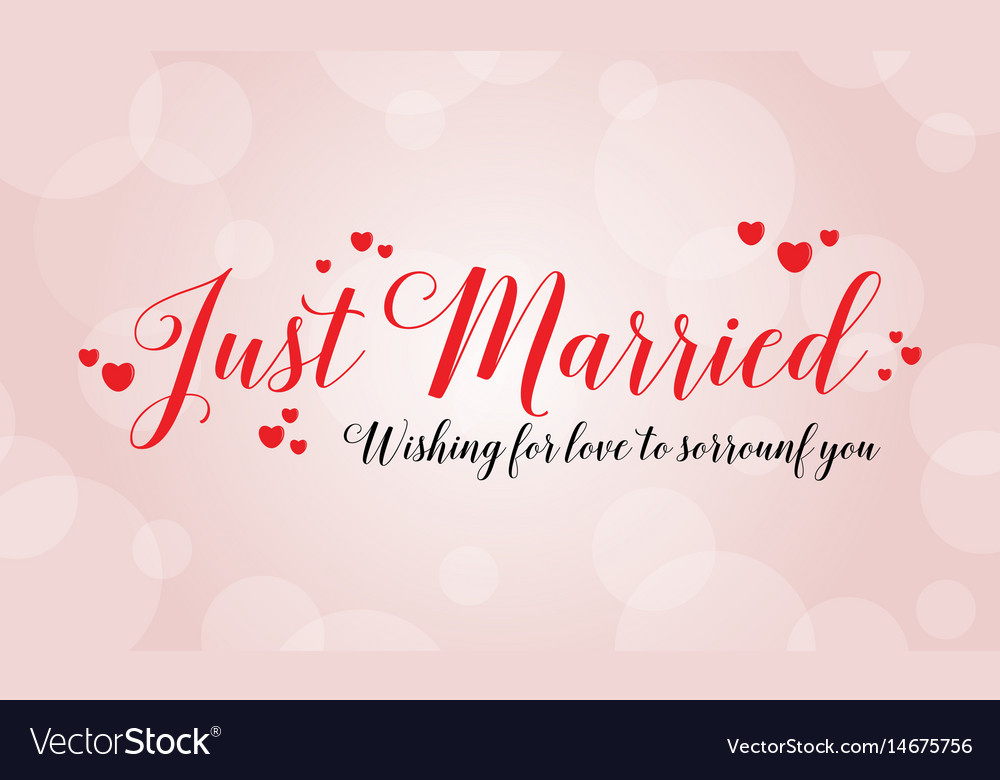 Happy wedding design greeting card royalty free vector image happy wedding design greeting card vector image m4hsunfo