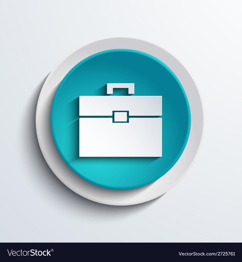 Modern blue circle icon Web element