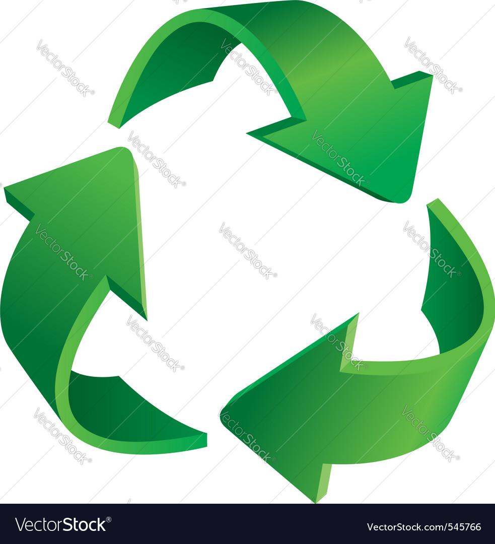 recycling symbol royalty free vector image vectorstock rh vectorstock com recycling victor ny recycling victorville ca