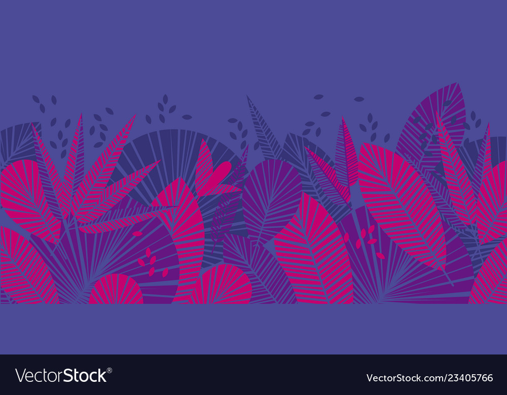 Tropical leaves color